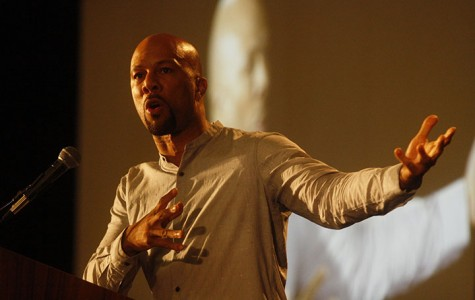 Rapper Common speaks at JW Marriott