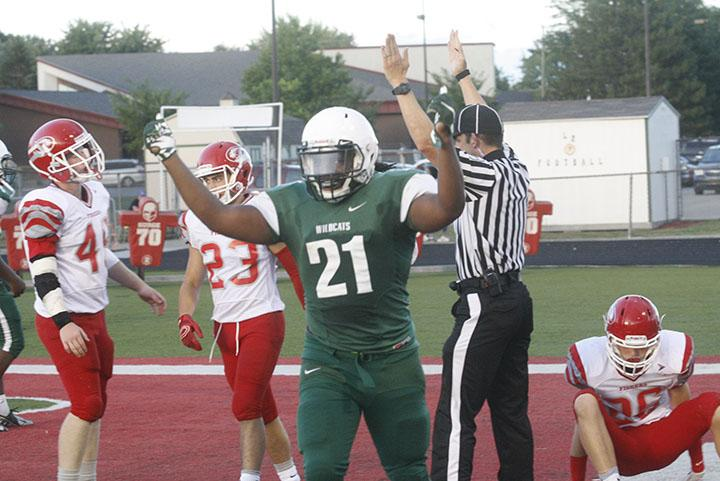 Football vs. Fishers: Photo Gallery