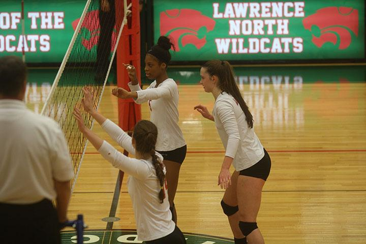 Volleyball vs. Franklin Central: Photo Gallery