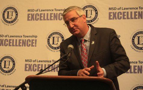 Lawrence North hosts the gubernatorial debate: Photo Gallery