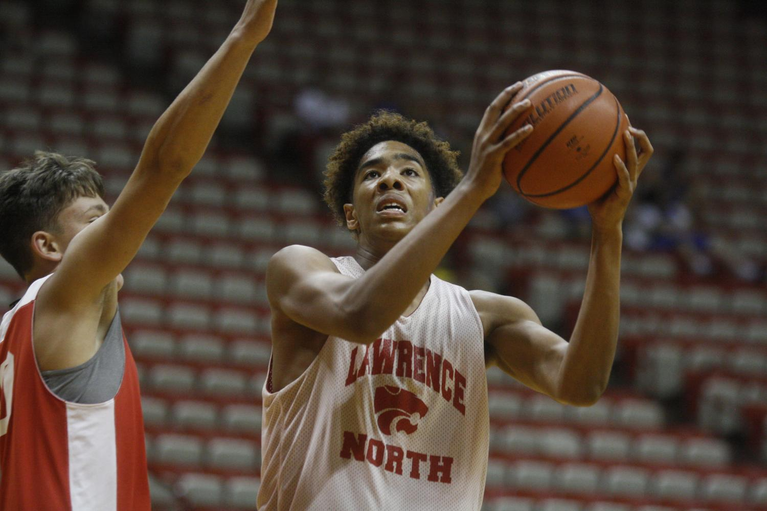 Easley, Hankins lead fast paced offense at IU Team Camp
