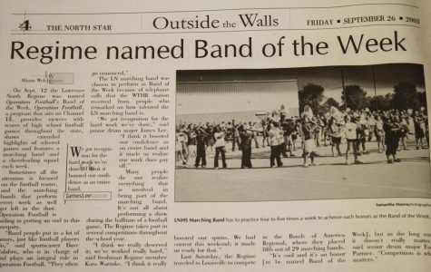 """North Star Time Capsule: 2003 LN Regime named Operation Football """"Band of the Week"""""""
