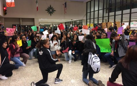 Students protest presidential action on DACA