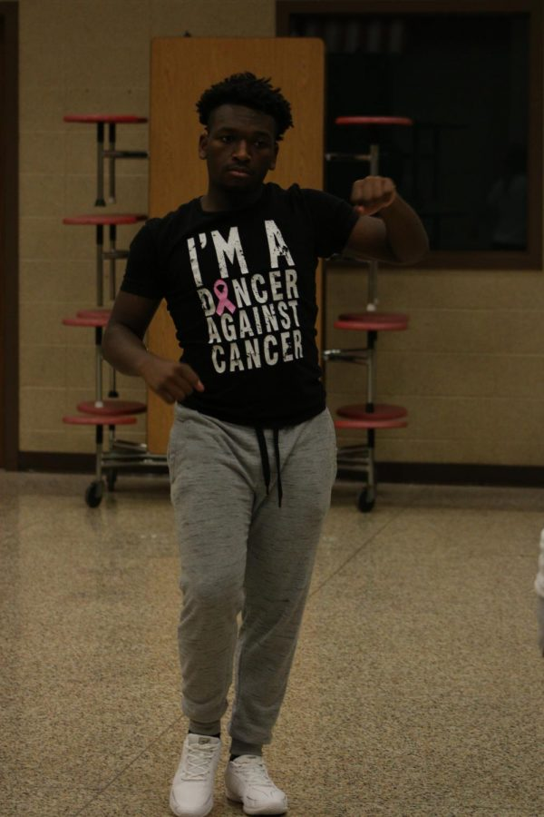 Christian Dudley takes love of dance from gym floor to hardwood for basketball season