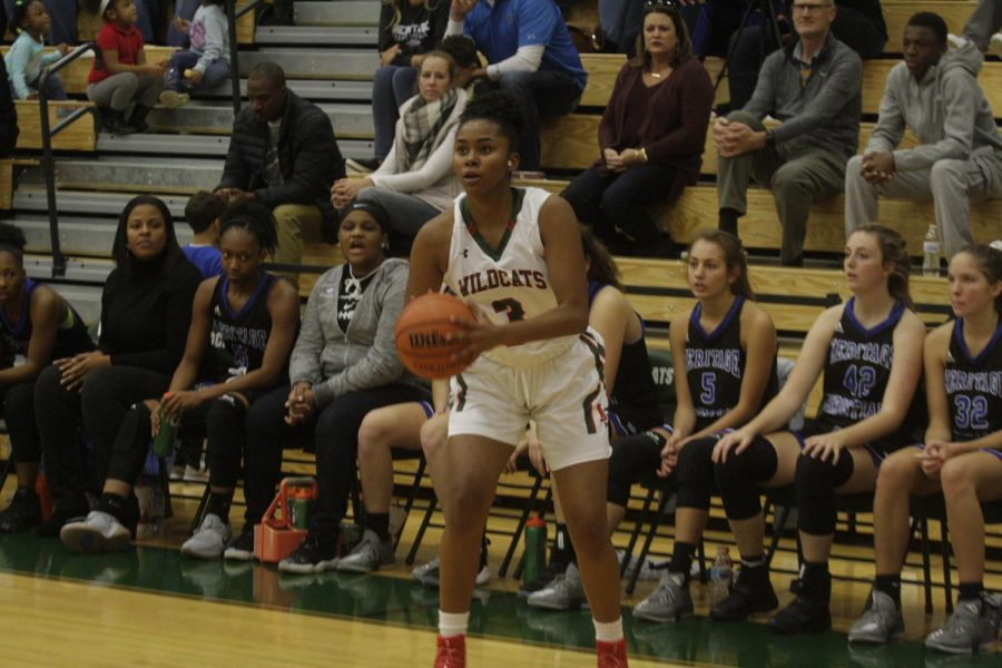 Junior Trinity Brady takes new role for young Girls Basketball team