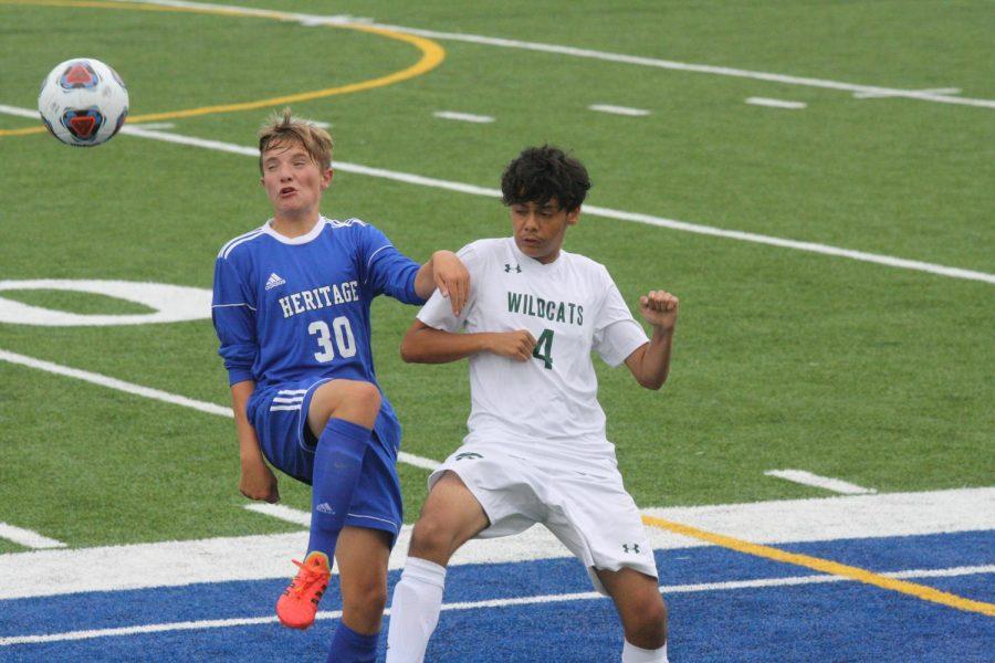 JV and Varsity Boys Soccer vs. Heritage Christian: Photo Gallery