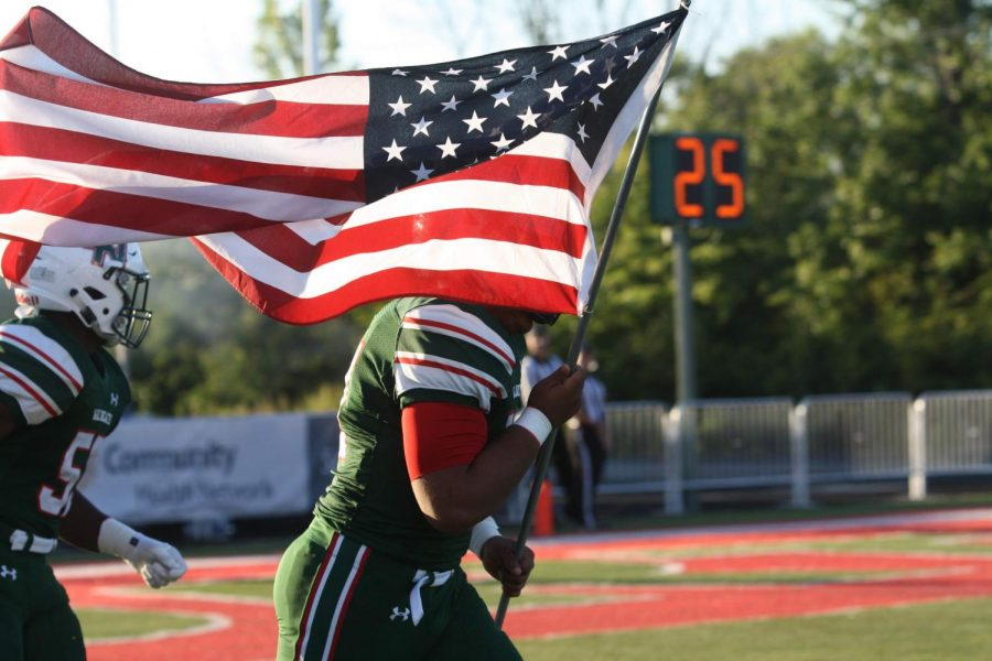 LN football takes on Carmel: Photo Gallery
