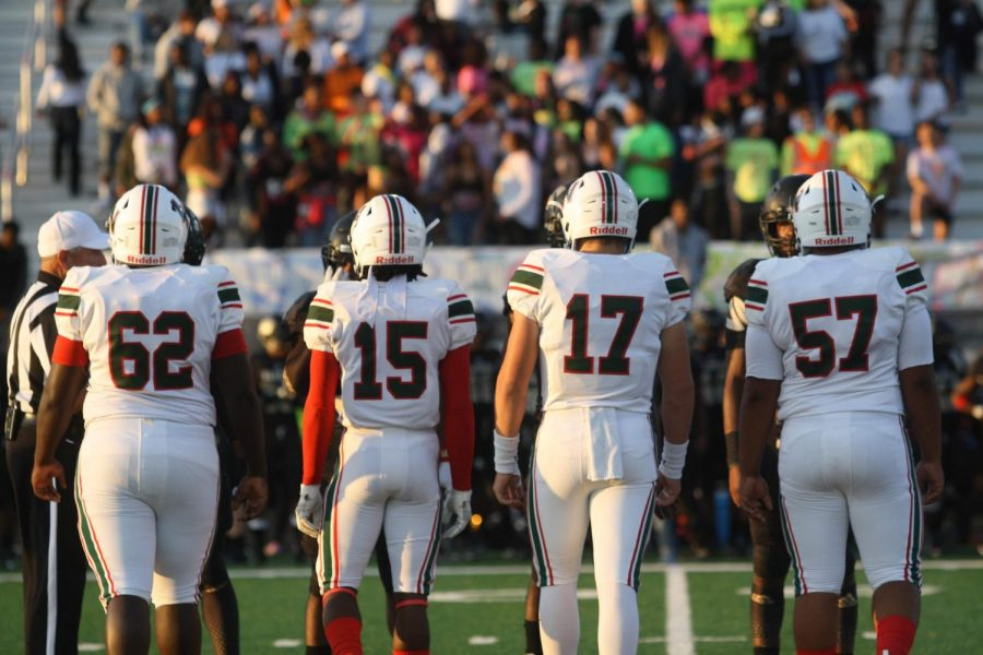 Lawrence North football faces off Warren Central