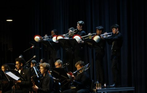 APA finalist Billy Test and Lawrence North's Jazz bands: Photo Gallery