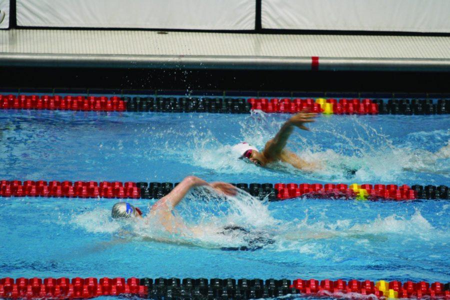 Swim team sets new records