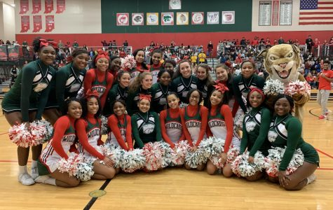Photo Gallery: Giving our support at morning prep rally