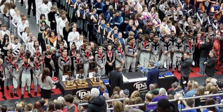 Lawrence Township Winter Percussion heads to Dayton to compete in Nationals