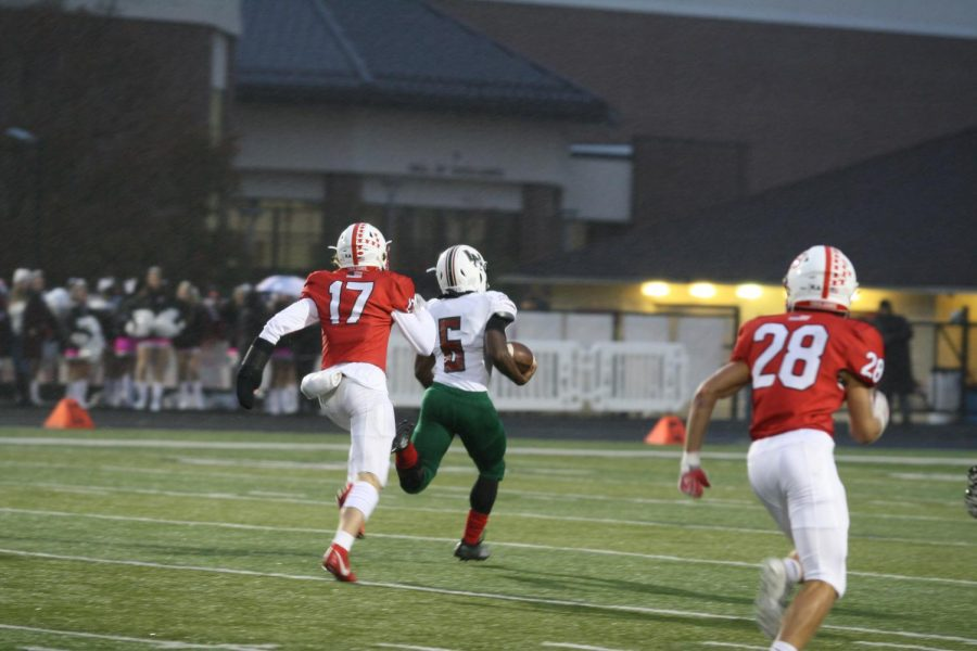 Lawrence North vs Center Grove (21-35): Photo Gallery