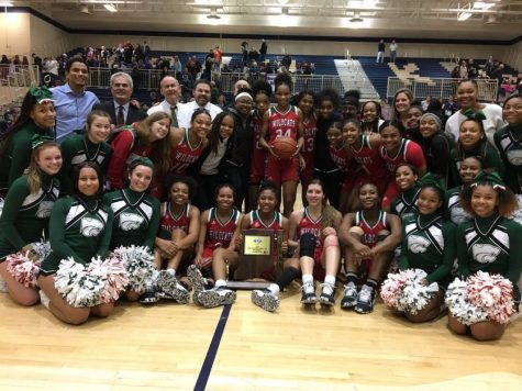 The Lady Wildcats defeated the Brownsburg Bulldogs at the Regionals Championship game later that night with a score of 58-57.