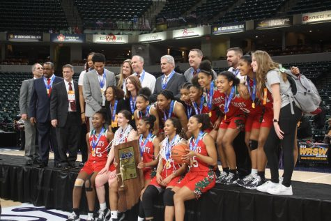 Girls Basketball State Championship, Lawrence North vs Northwestern (59-56): Photo Gallery