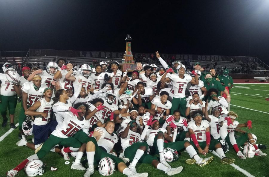 For the first time since 2007, the Wildcats take home the Bell Trophy as they beat LC 28-21.